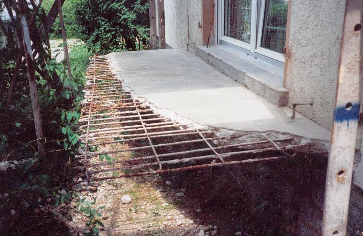 Balkonsanierung am Eigenheim eines Kunden