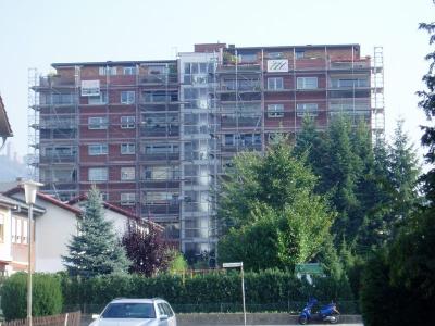 Balkonsanierung an einer großen Wohnanlage in Heppenheim