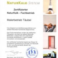 Unser Malerbetrieb ist zertifizierter NaturKalk Fachbetrieb. Wir können Sie kompetent und fachlich einwandfrei beim Einsatz von Naturkalk beraten und das Produkt bei Ihnen einsetzen.